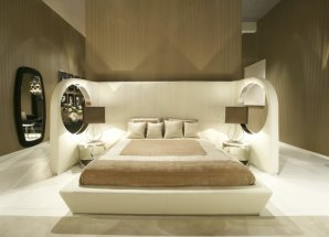 Кровать Ipe Cavalli ENTERPRISE, ENTERPRISE king bed 200