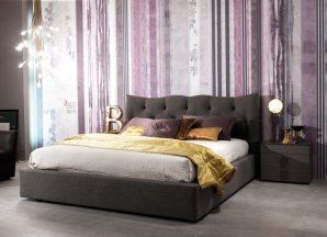 кровать Biba Salotti Meneo, Meneo double bed