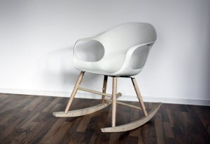 кресло-качалка Kristalia Elephant rocking chair, El rock ch