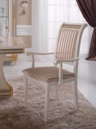 стул с подлокотниками Arredo Classic Liberty, Liberty chair with arms