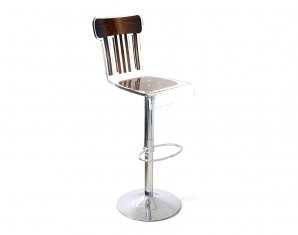 барный стул Acrila Bistrot bar stool Brown wood, Bistrot bar stool Brown wood