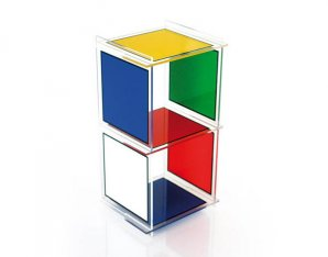 стеллаж Acrila JCDC, JCDC shelves Bad haus 2 cubes