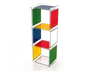 стеллаж Acrila JCDC, JCDC shelves Bad haus 3 cubes