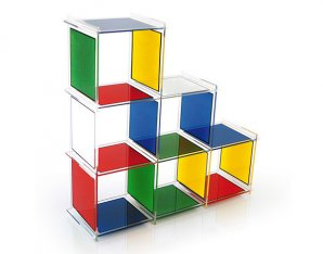 стеллаж Acrila JCDC, JCDC shelves Bad haus 6 cubes