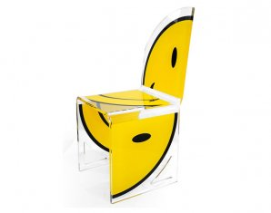 стул без подлокотников Acrila Chair Quarter 2 models Smiley, Chair Quarter 2 models Smiley