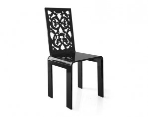 стул без подлокотников Acrila grand soir, Lace or bars chairs «grand soir»