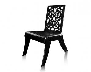 стул без подлокотников Acrila grand soir, Lace or bars relax chairs «grand soir»