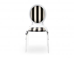 стул без подлокотников Acrila Sixteen Chair striped, Sixteen Chair striped