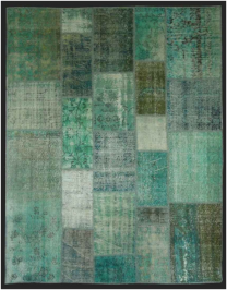 ковер Carpet Edition Patchwork, PATCHWORK TURQUOISE