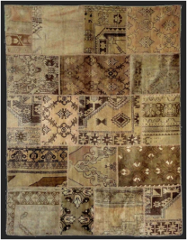 ковер Carpet Edition Patchwork, PATCHWORK nat.beige
