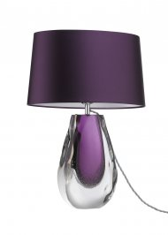 Светильник  настольный  Heathfield & Co Anya, Anya Violet Table Lamp