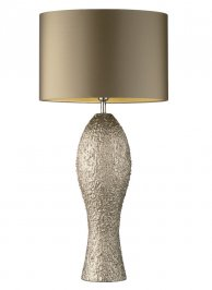 Светильник  настольный  Heathfield & Co Beatrice, Beatrice Nickel Large Table Lamp