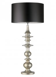 Светильник  настольный  Heathfield & Co Bilbao, Bilbao Silver Large Table Lamp