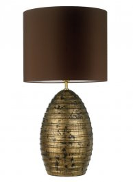 Светильник  настольный  Heathfield & Co Boheme, Boheme Antique Gold Table Lamp