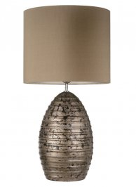 Светильник  настольный  Heathfield & Co Boheme, Boheme Antique Silver Table Lamp