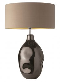Светильник  настольный  Heathfield & Co Cordoba, Cordoba Pewter Large Table Lamp