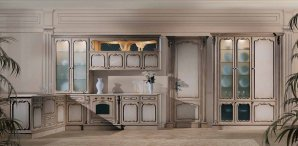 Комплект в кухню Angelo Cappellini Kitchen System, KS4