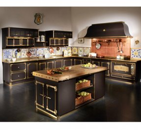 комплект в кухню Restart Metal kitchens, Medici palace