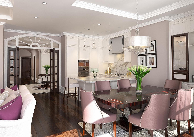 Дизайн квартиры 200 кв