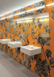 Настенная плитка Bisazza Decoration Mosaics, Decoration-Mosaic-HANAMI-3