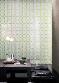 Настенная плитка Bisazza Decoration Mosaics, Decoration-Mosaic-RINGS