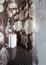 Настенная плитка Bisazza Decoration Mosaics, Decoration-Mosaic-WINTER-FLOWERS-2