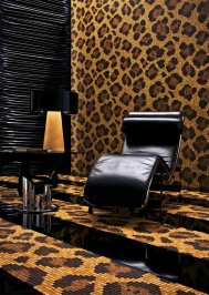 Настенная плитка Bisazza Decoration Mosaics, Decoration-Mosaic-LEOPARD