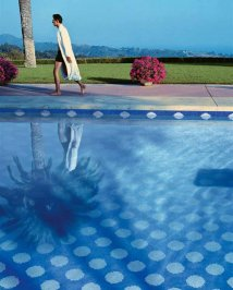 Плитка для бассейна Bisazza Pool Mosaics, Pool-Mosaic-CORFU1