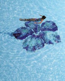 Плитка для бассейна Bisazza Pool Mosaics, Pool-Mosaic-IBISCUS1
