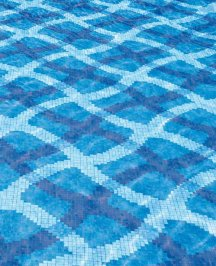 Плитка для бассейна Bisazza Pool Mosaics, Pool-Mosaic-MIRAGE-BLUE