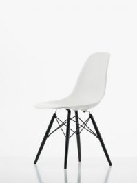 Стул без подлокотников Vitra Eames Plastic Side Chair, Eames Plastic Side Chair DSW
