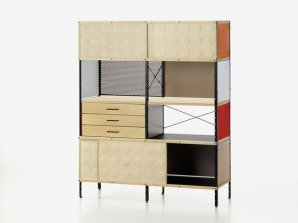 Шкаф книжный Vitra Eames Storage Unit ESU, ESU Bookcase