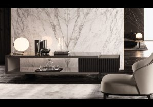 Комод Minotti Aylon, LIVING SIDEBOARD