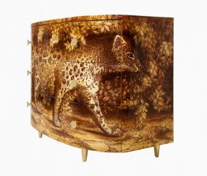 комод Fornasetti Leopard, M11Y097