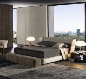 King size кровать Minotti Creed, MCK9G