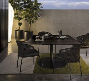 Обеденный стол Minotti Bellagio Outdoor, MBD721B