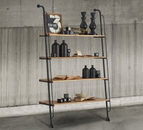Стеллаж Dialma Brown Bookcases, DB004451