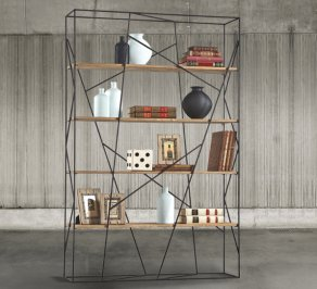 Стеллаж Dialma Brown Bookcases, DB004455