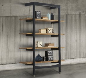 Стеллаж Dialma Brown Bookcases, DB004503