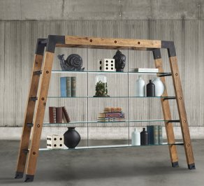 стеллаж Dialma Brown Bookcases, DB004525