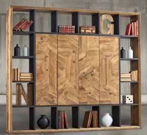 Стеллаж Dialma Brown Bookcases, DB004545