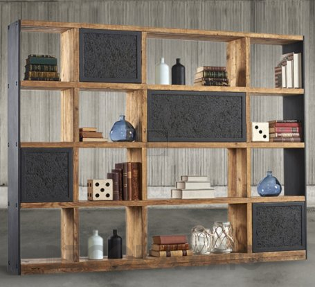 Стеллаж Dialma Brown Bookcases - DB004534