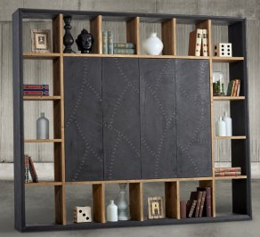 Стеллаж Dialma Brown Bookcases, DB004547