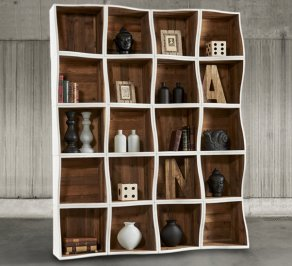 Стеллаж Dialma Brown Bookcases, DB004562