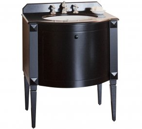 Тумба под умывальник Gentry Home GH Furniture, black_chester_3090