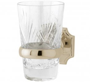 Стакан для зубных щеток Gentry Home GH Regent, crystal_tumbler_holder_8446