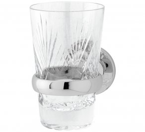 Стакан для зубных щеток Gentry Home GH Oxford, crystal_tumbler_holder_8376