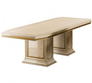 обеденный стол Arredo Classic Leonardo, Leonardo Rectangular Table with 2/Extensions