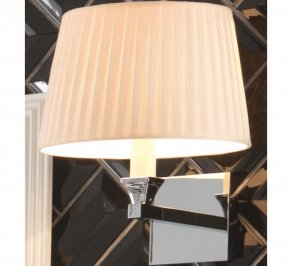 Светильник  настенный настенный Imperial Bathroom IB Lightning Collection, ib_astoria_wall_lamp_with_round_flat_pleated