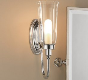 Светильник  настенный настенный Imperial Bathroom IB Lightning Collection, ib_avila_wall_light_with_glass_shade
